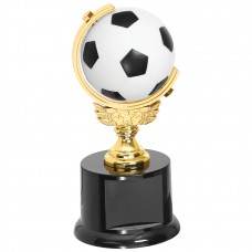 SOC15  Spinning Soccer Ball Trophy